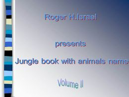 Jungle book volume II