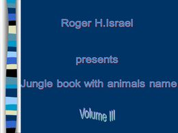 Jungle book volume III