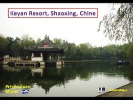 Keyan Resort Shaoxing en Chine