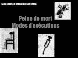La peine de mort mode d'exécution
