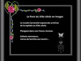 PPS Le Paris du XIXème siècle en images