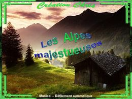 Les Alpes majestueuses