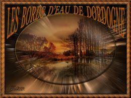 Les bords d'eau de Dordogne