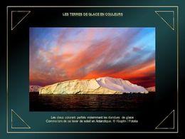 Les terres de glace en couleurs