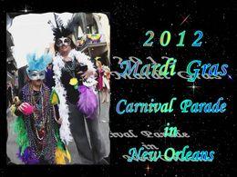 Mardi gras 2012