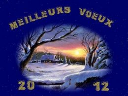 Meilleurs vœux 2012