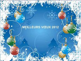 Meilleurs vœux 2012 de Speedy40