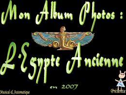 Mon album photos Égypte ancienne 2007