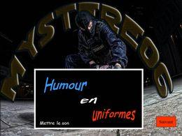 Humour en uniformes