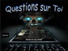 Questions sur toi