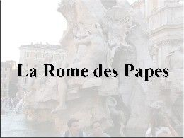La Rome des papes