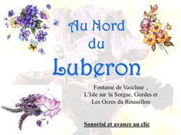 Nord du Lubéron