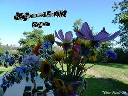 Nos fleurs au mois d'Aout 2012 1ère partie