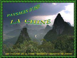 Paysages d'Asie la Chine