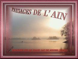 Diaporama Paysages de l'Ain