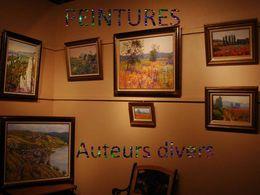 Peintures d'auteurs divers