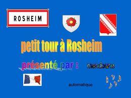 Petit tour à Rosheim