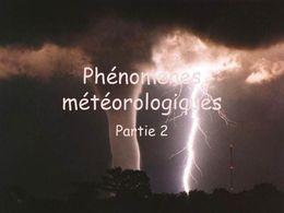 Phénomène météorologique N°2