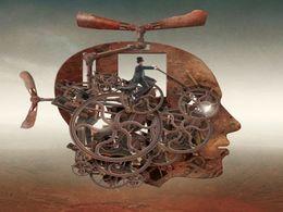 Pintura surrealista de Igor Morski