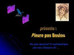 Pleure pas Boulou