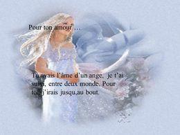 Pour ton amour