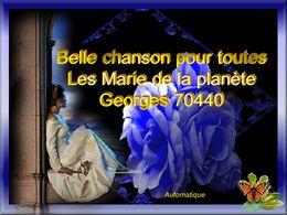 Pour toutes les Marie