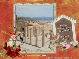Le site archéologique de Lindos