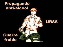 Propagande anti alcool Urss