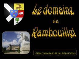 Diaporama Le domaine de Rambouillet