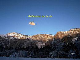 Réflexions sur la vie N°10