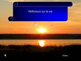 Réflexions sur la vie N°4