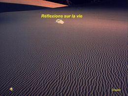 Réflexions sur la vie 5