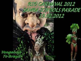 Rio carnaval 2012 samba schools parade