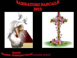 Sarbatori Pascale 2012