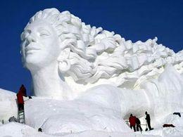 Sculptures de neige N°2