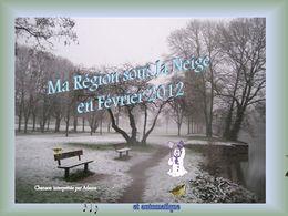 Sous la neige en pays de Loire