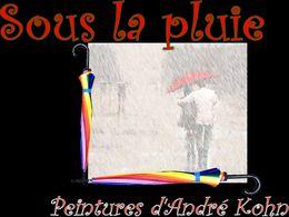 PPS Sous la pluie en peinture
