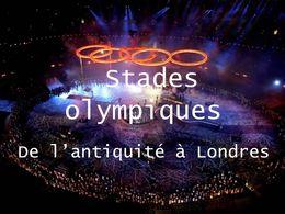 PPS Stades olympiques de l'antiquité à Londres