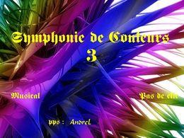 Symphonie de couleurs 3