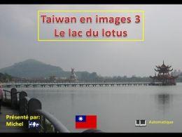 Taïwan en images 3 le lac du lotus