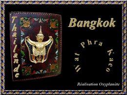 Wat Phra Kaeo à Bangkok en Thaïlande