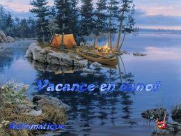 Vacances en canot