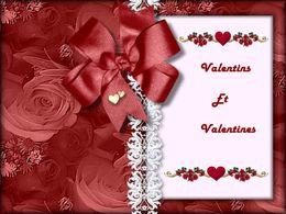 Valentins et valentines
