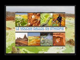 Volcan dallol dans le désert du danakil en Éthiopie