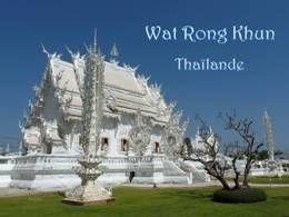 Wat Rong Khun en Thaïlande