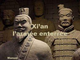 Xi'an l'armée enterrée