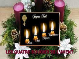 Un Poème De Lavent Les Quatre Bougies