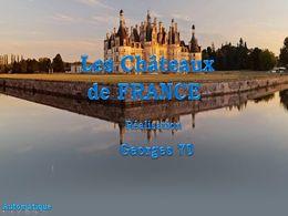 diaporama pps Les châteaux de France